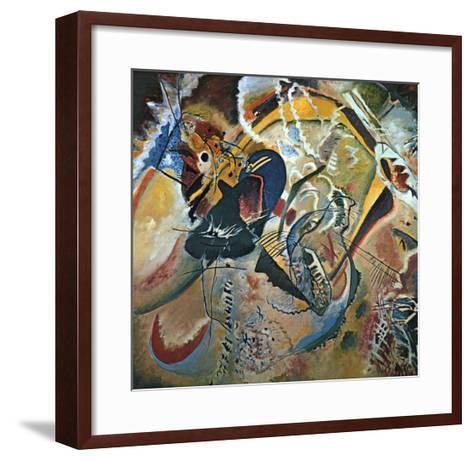 Improvisation No. 35-Wassily Kandinsky-Framed Art Print