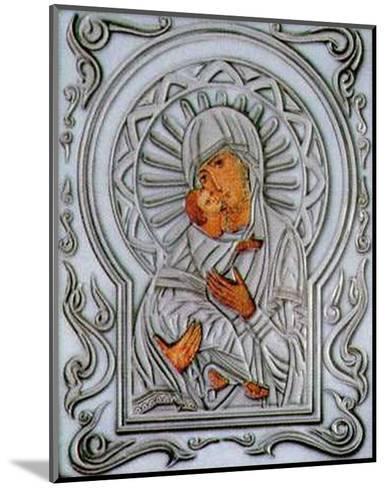 Holy Subject III--Mounted Art Print