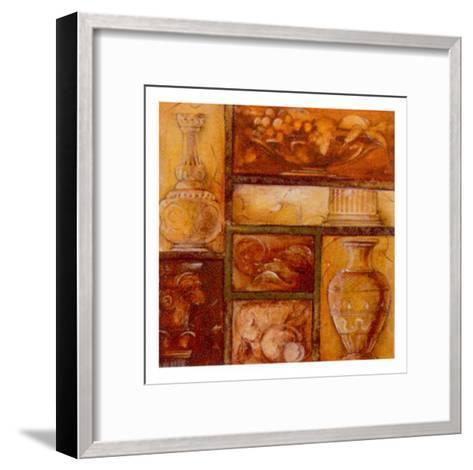Collecting Antiques III-Elvira Ricci-Framed Art Print