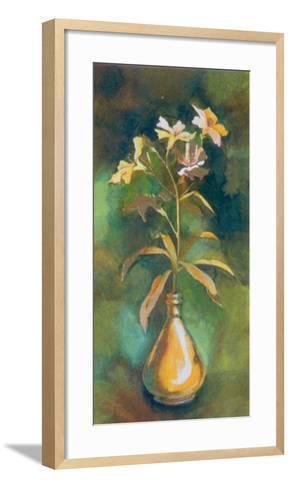 Golden Flower I-Cesara Maltempi-Framed Art Print