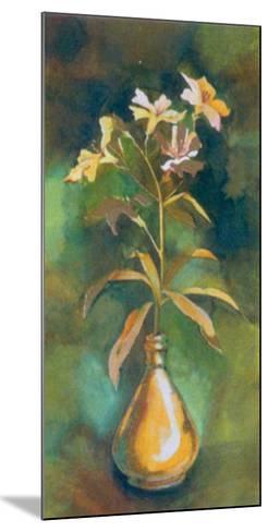 Golden Flower I-Cesara Maltempi-Mounted Art Print