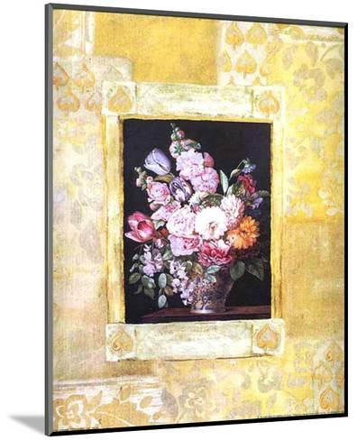 Enquadro III-F. Potter-Mounted Art Print