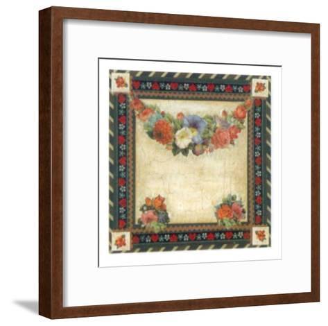 Corbeilles and Festons III-G^ Malone-Framed Art Print