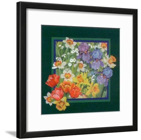 Summer Family II-Lilli Sounders-Framed Art Print