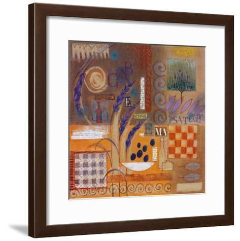 Elements of Nature II-Monica Walley-Framed Art Print