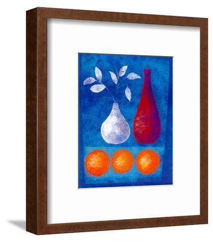 Study in Still Life IV-L. De Simone-Framed Art Print