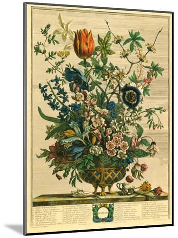 February-Robert Furber-Mounted Art Print