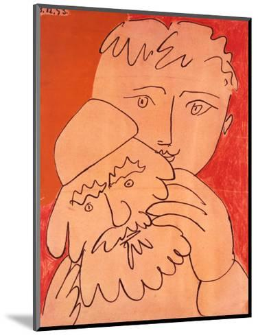 New Year-Pablo Picasso-Mounted Art Print