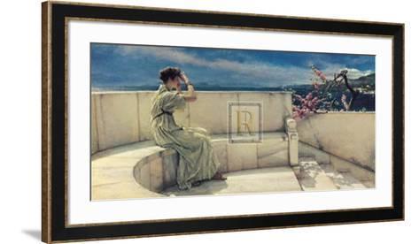 Hope Springs Eternal-Sir Lawrence Alma-Tadema-Framed Art Print