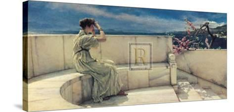 Hope Springs Eternal-Sir Lawrence Alma-Tadema-Stretched Canvas Print