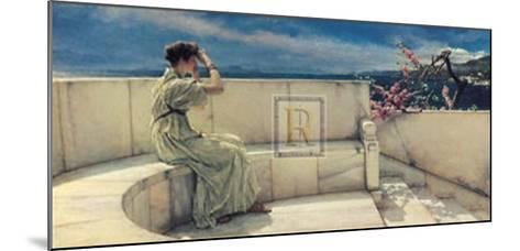 Hope Springs Eternal-Sir Lawrence Alma-Tadema-Mounted Art Print