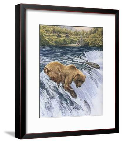 Catch of the Day-Richard Stanley-Framed Art Print