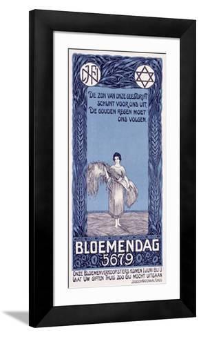 Bloemendag-D. Hoeden-Framed Art Print