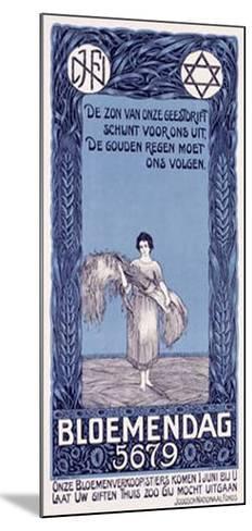 Bloemendag-D. Hoeden-Mounted Giclee Print