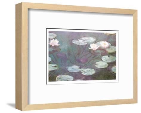 Water Lilies-Claude Monet-Framed Art Print