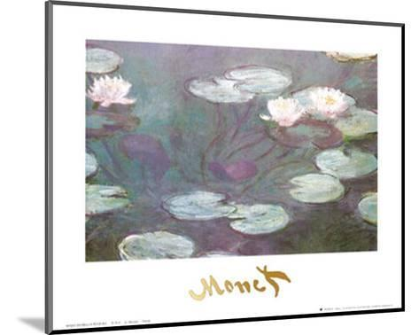 Water Lilies-Claude Monet-Mounted Art Print