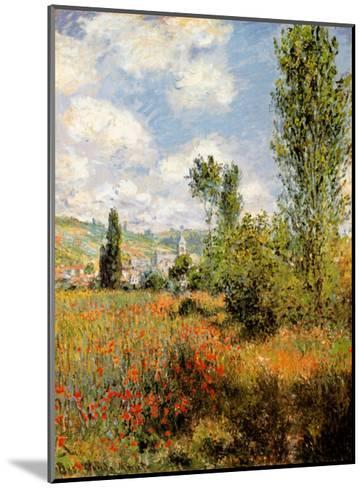 Ile Saint Martin, Vetheuil-Claude Monet-Mounted Art Print