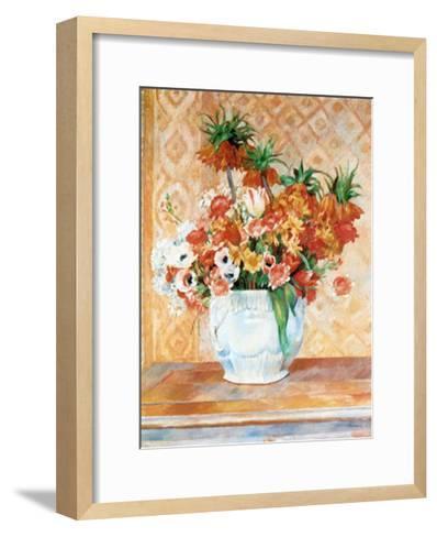 Still Life-Pierre-Auguste Renoir-Framed Art Print