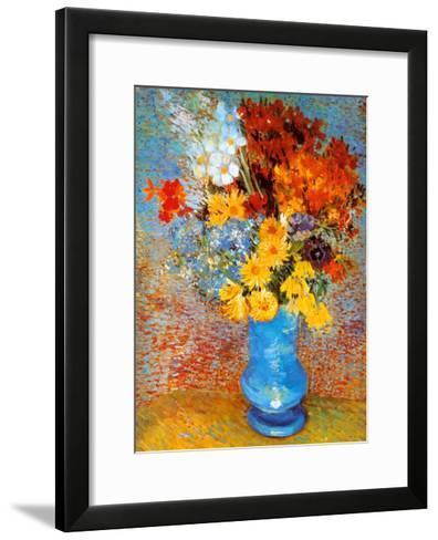 Vase of Flowers, c.1887-Vincent van Gogh-Framed Art Print