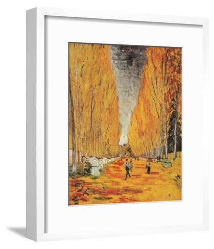 Allee des Alyscamps-Vincent van Gogh-Framed Art Print