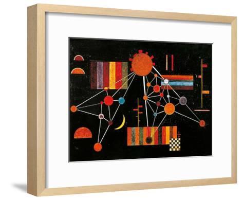 Geflecht von Oben no. 231, c.1927-Wassily Kandinsky-Framed Art Print