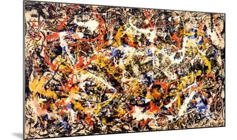 Convergence-Jackson Pollock-Mounted Art Print
