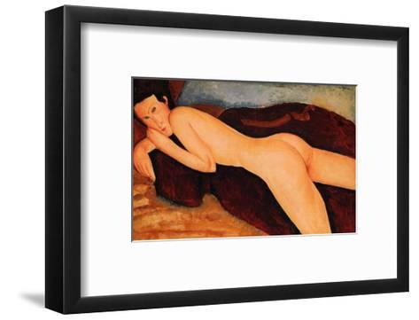 Reclining Nude from the Back, 1917-Amedeo Modigliani-Framed Art Print
