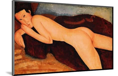 Reclining Nude from the Back, 1917-Amedeo Modigliani-Mounted Art Print