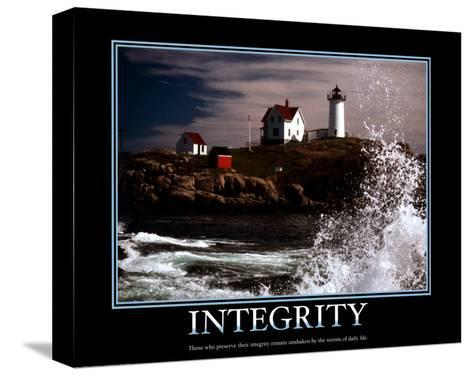 Integrity--Stretched Canvas Print