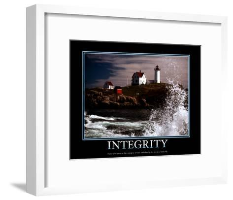Integrity--Framed Art Print