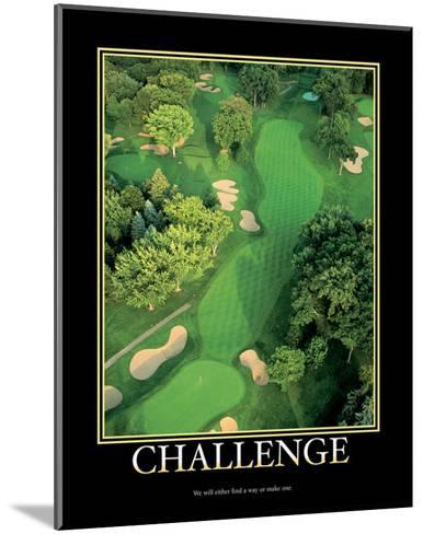 Challenge--Mounted Art Print