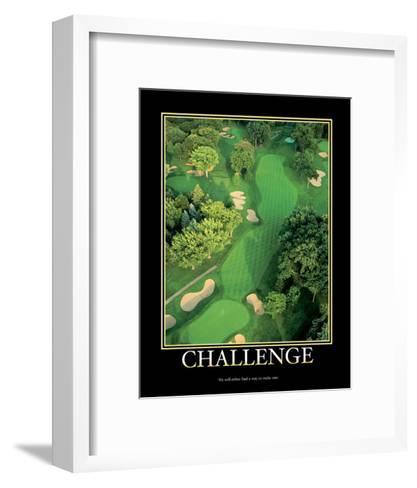 Challenge--Framed Art Print