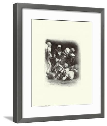Jim Brown-Allen Friedlander-Framed Art Print