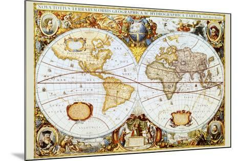 Map of the World--Mounted Art Print