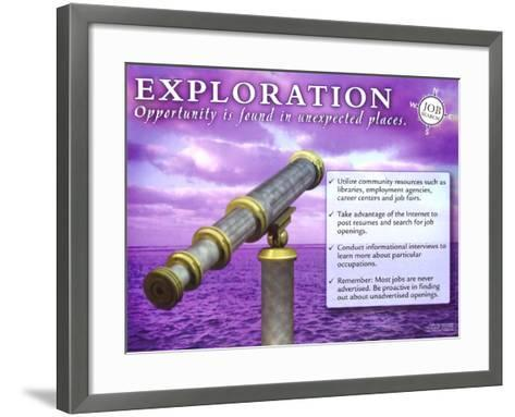 Exploration--Framed Art Print