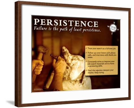 Persistence--Framed Art Print
