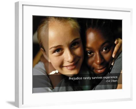 Experience--Framed Art Print