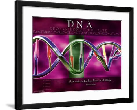 DNA--Framed Art Print