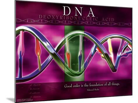 DNA--Mounted Art Print
