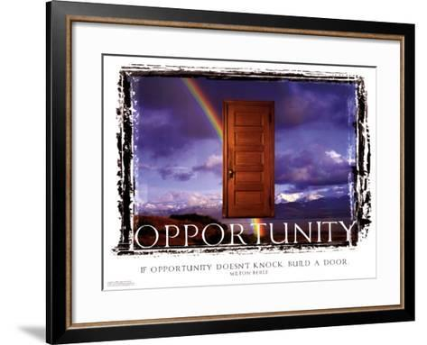 Opportunity--Framed Art Print