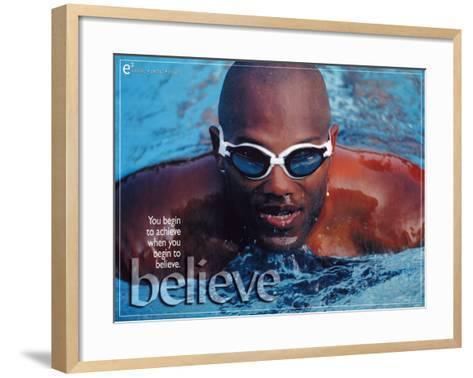 Believe--Framed Art Print