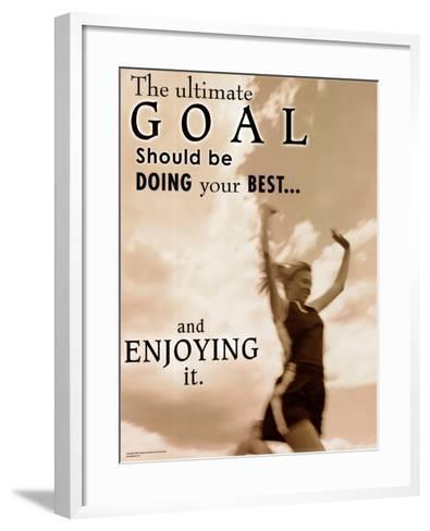 Ultimate Goal--Framed Art Print