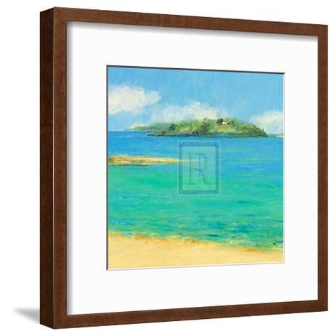 Aquamarine II-Hazel Barker-Framed Art Print