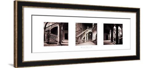 Palazzo Staircase-Bill Philip-Framed Art Print