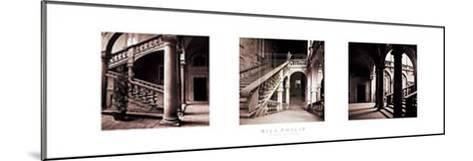 Palazzo Staircase-Bill Philip-Mounted Art Print