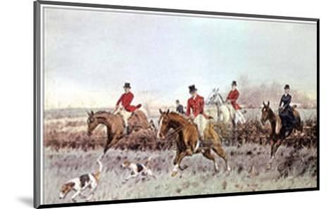 The Cream-George Wright-Mounted Art Print