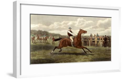 Too Fast-E.A.S. Douglas-Framed Art Print
