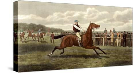Too Fast-E.A.S. Douglas-Stretched Canvas Print
