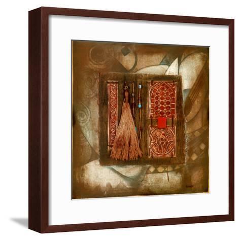 Copper Ages VII-Marian Kessler-Framed Art Print