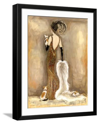Femme Fatale III-Karen Dupr?-Framed Art Print